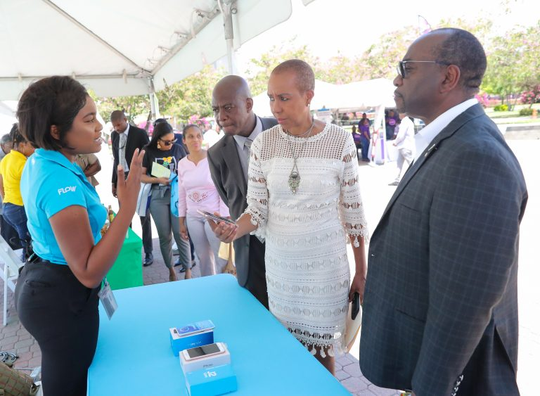 Launch of Emancipation Park Free Wi-Fi - Universal Service Fund (USF)