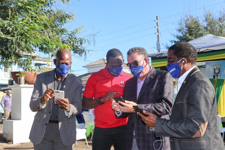 Universal Service Fund - Annotto Bay Free Public WiFi launch