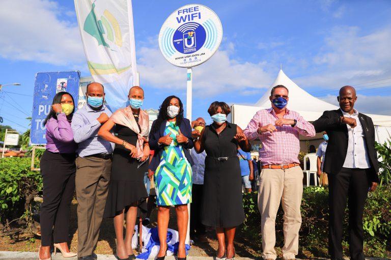 Universal Service Fund - OCHO RIOS Free Public Wifi