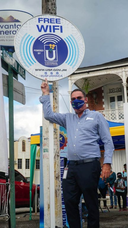 Universal Service Fund - Port Antonio Free Public Wifi Launch