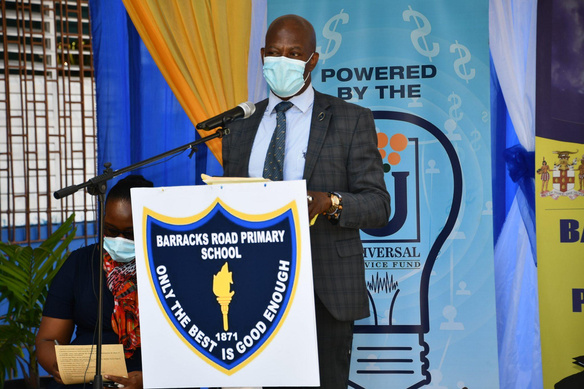 Universal Service Fund Barracks Road Primary CAP Launch